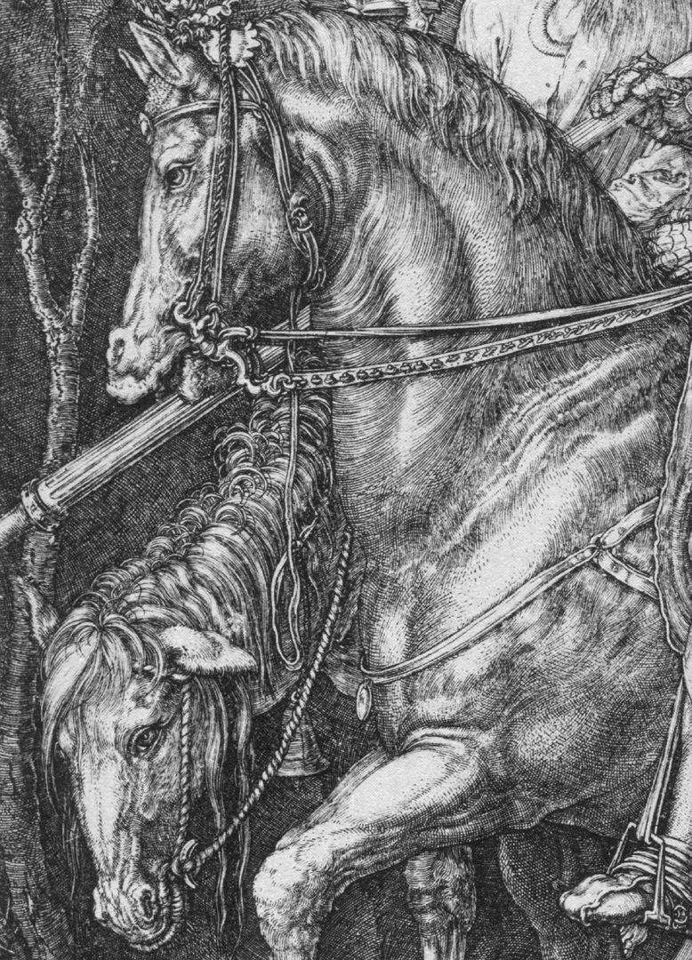 Knight, Death and the Devil Horses