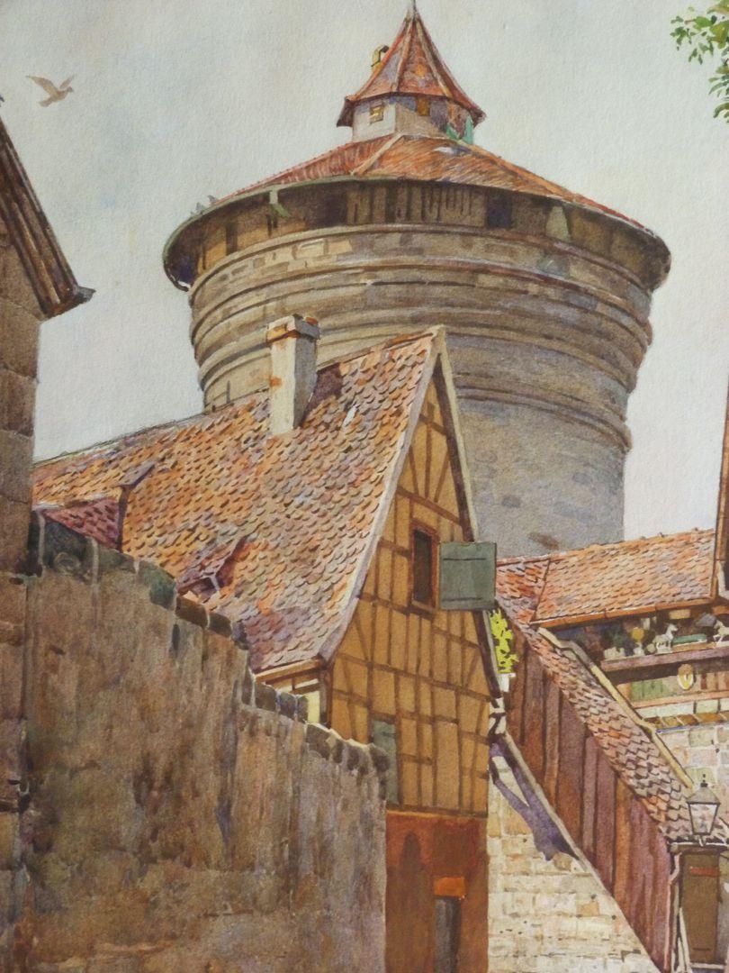 Neutor Wall with Neutor Tower Detail