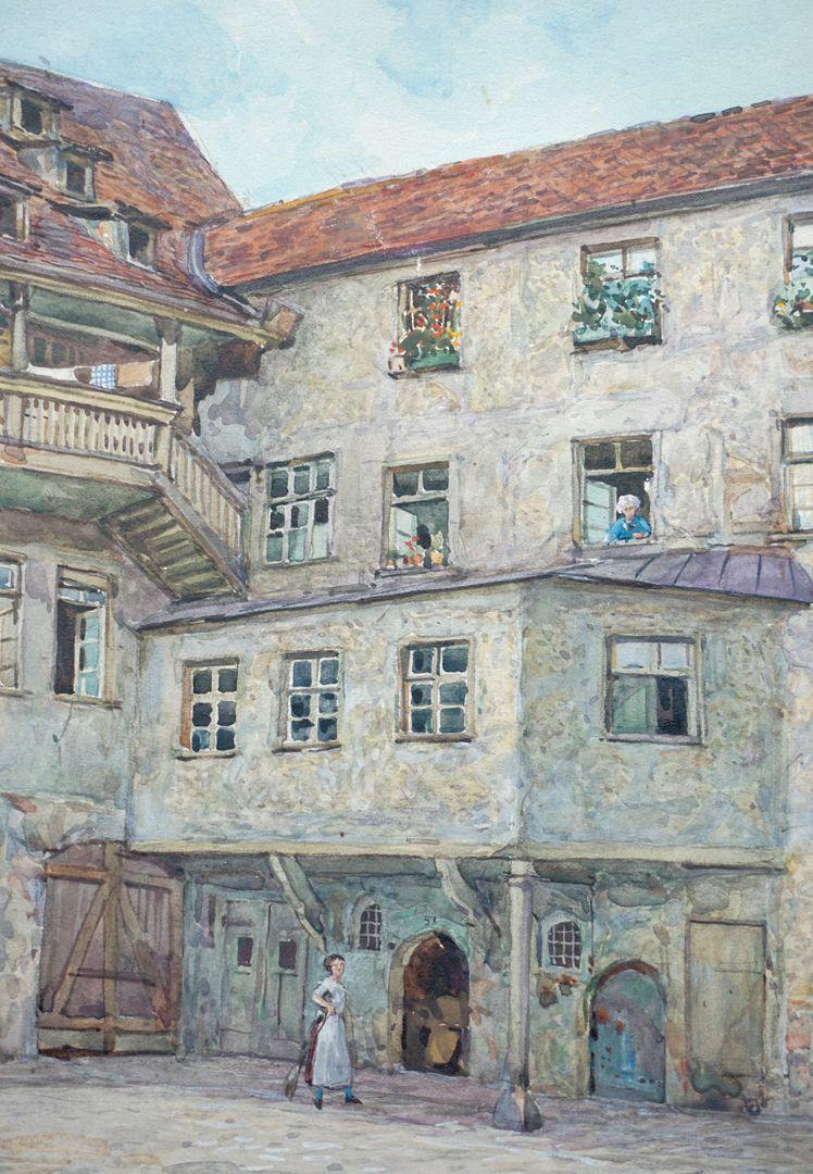 Bayerischer Hof in Nürnberg rechtes Bilddrittel, Detailansicht