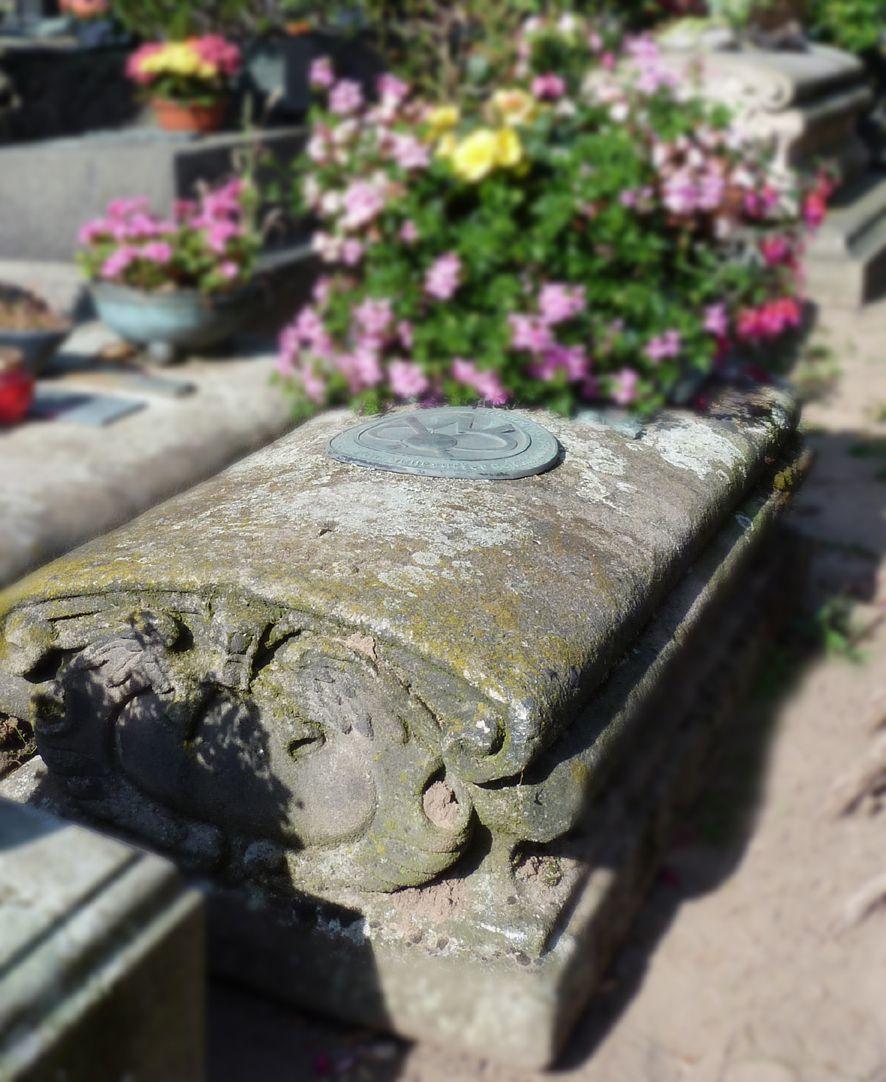 Tomb of Saueracker Tomb slab