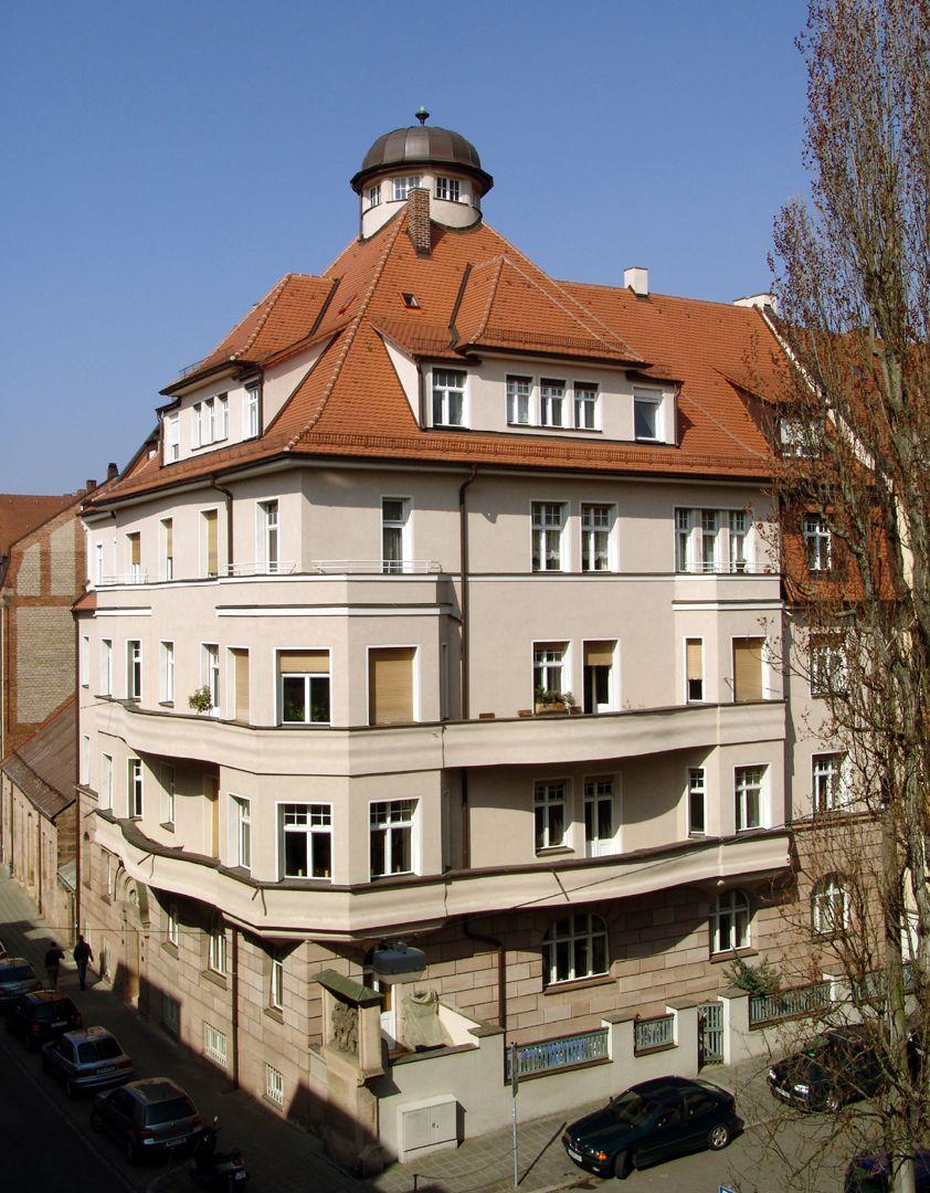 Residential house, Burgschmietstraße 12 General view