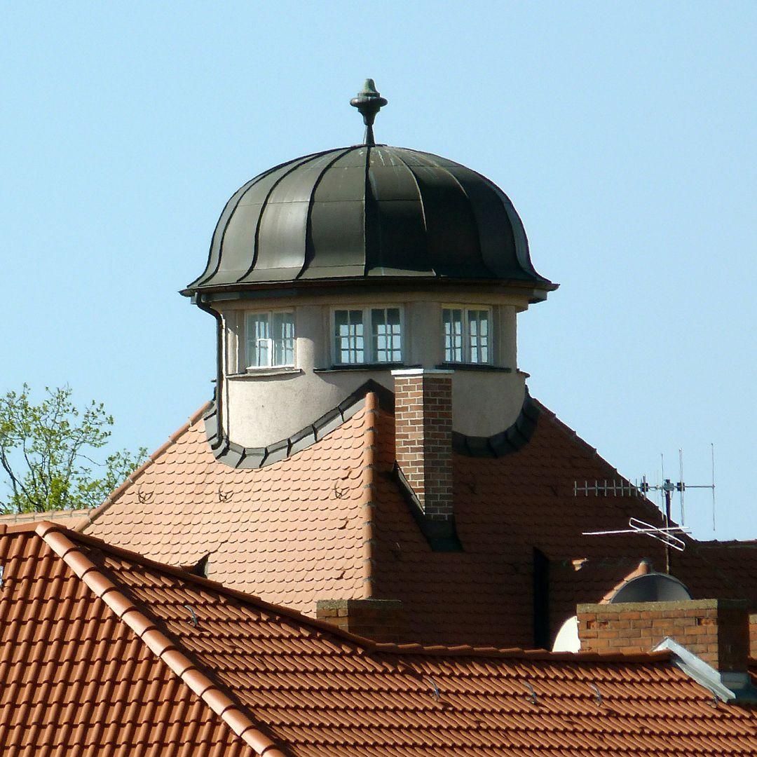 Residential house, Burgschmietstraße 12 Roof lantern