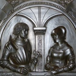 Epitaph of Walburga of Schaumberg and her consort, Sebastian
