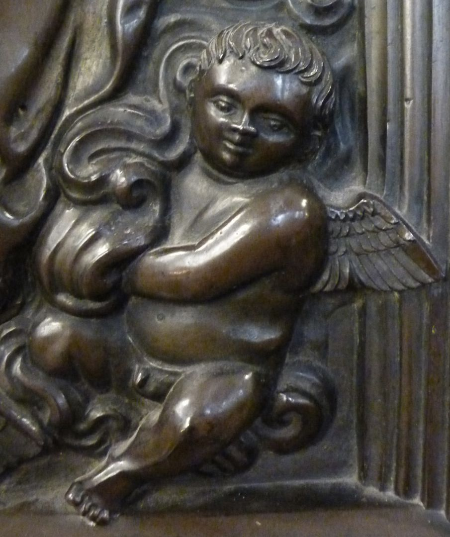 Epitaph of Provost Henning Göden (died 1521) Little angel among clouds