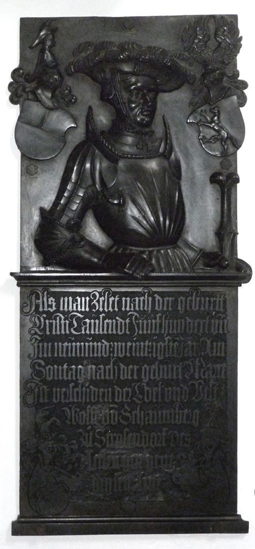 Epitaph of Wolf of Schaumberg (Lichtenfels) Total view
