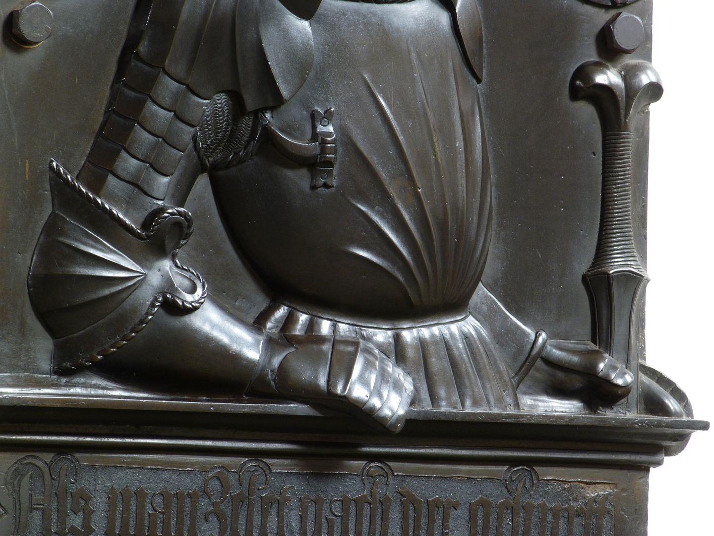 Epitaph of Wolf of Schaumberg (Lichtenfels) Armor, detail