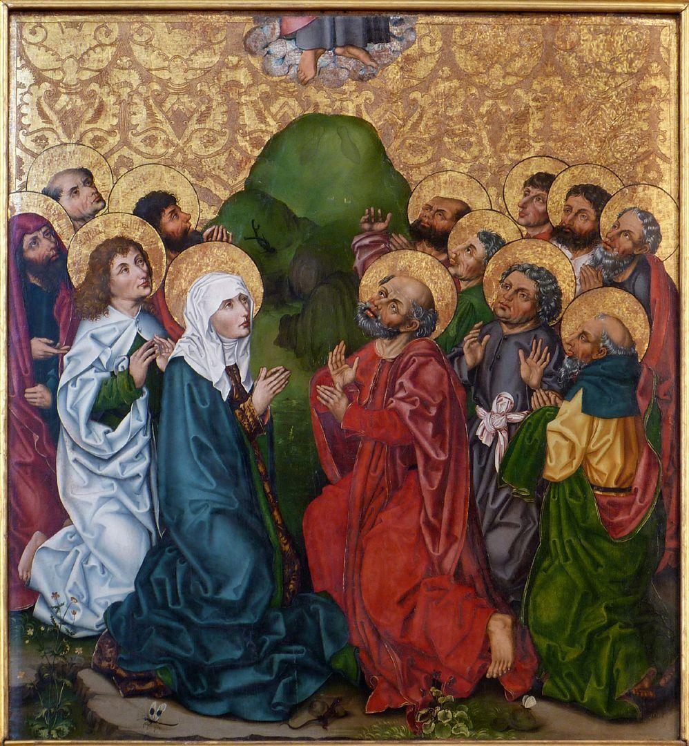 Himmelfahrt Christi oberes Bild