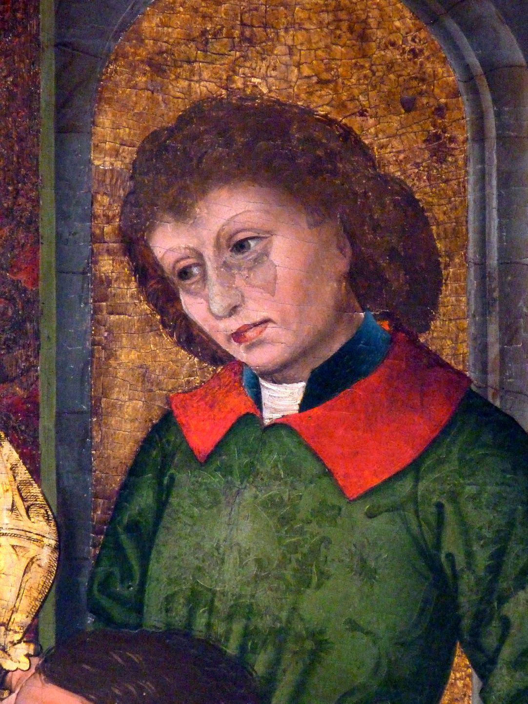 Epitaph der Benigna Holzschuher Darstellung des jungen Königs