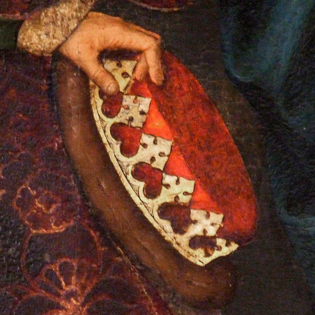 Epitaph der Benigna Holzschuher Krone des alten Königs