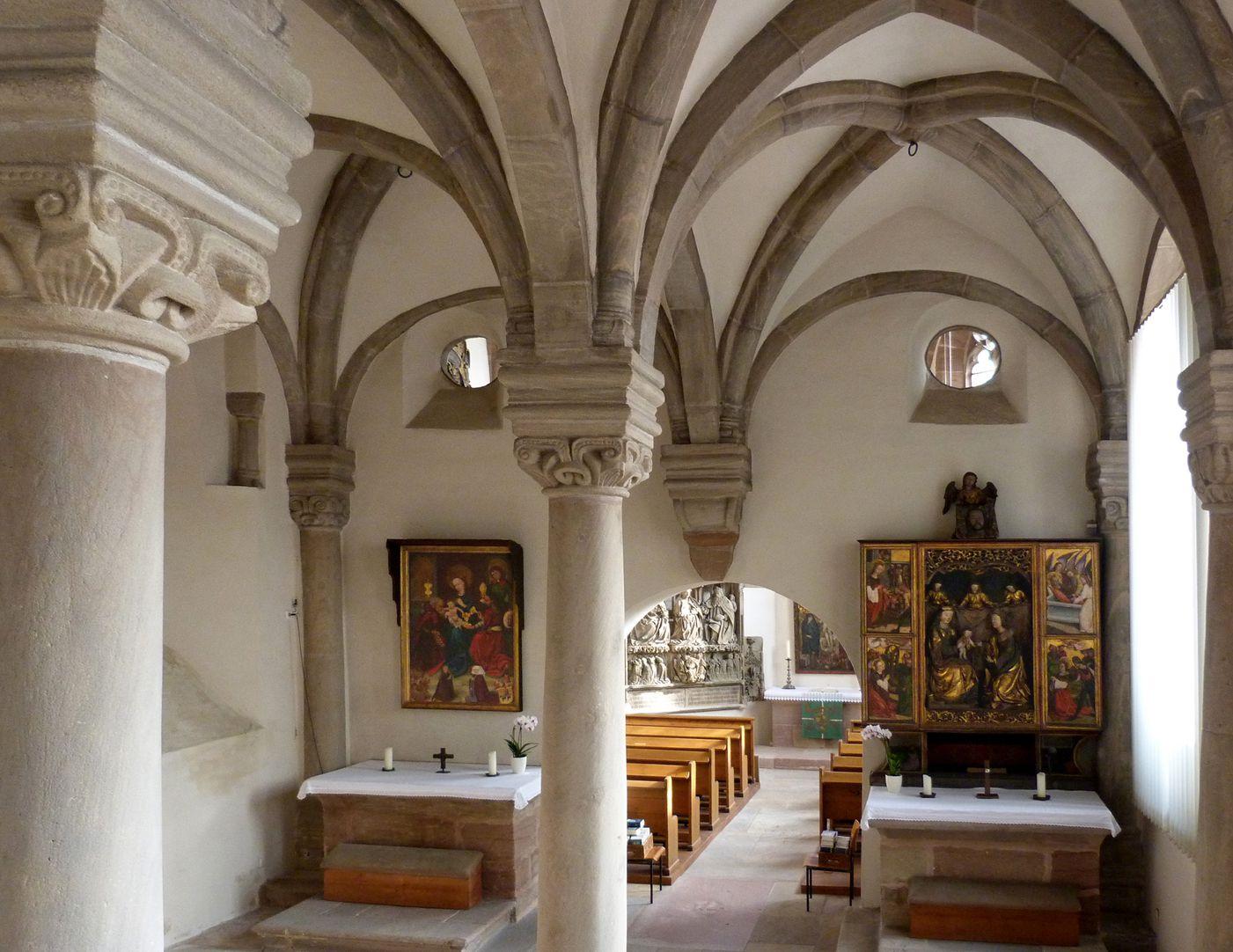 Euchariuskapelle Gesamtansicht von West nach Ost