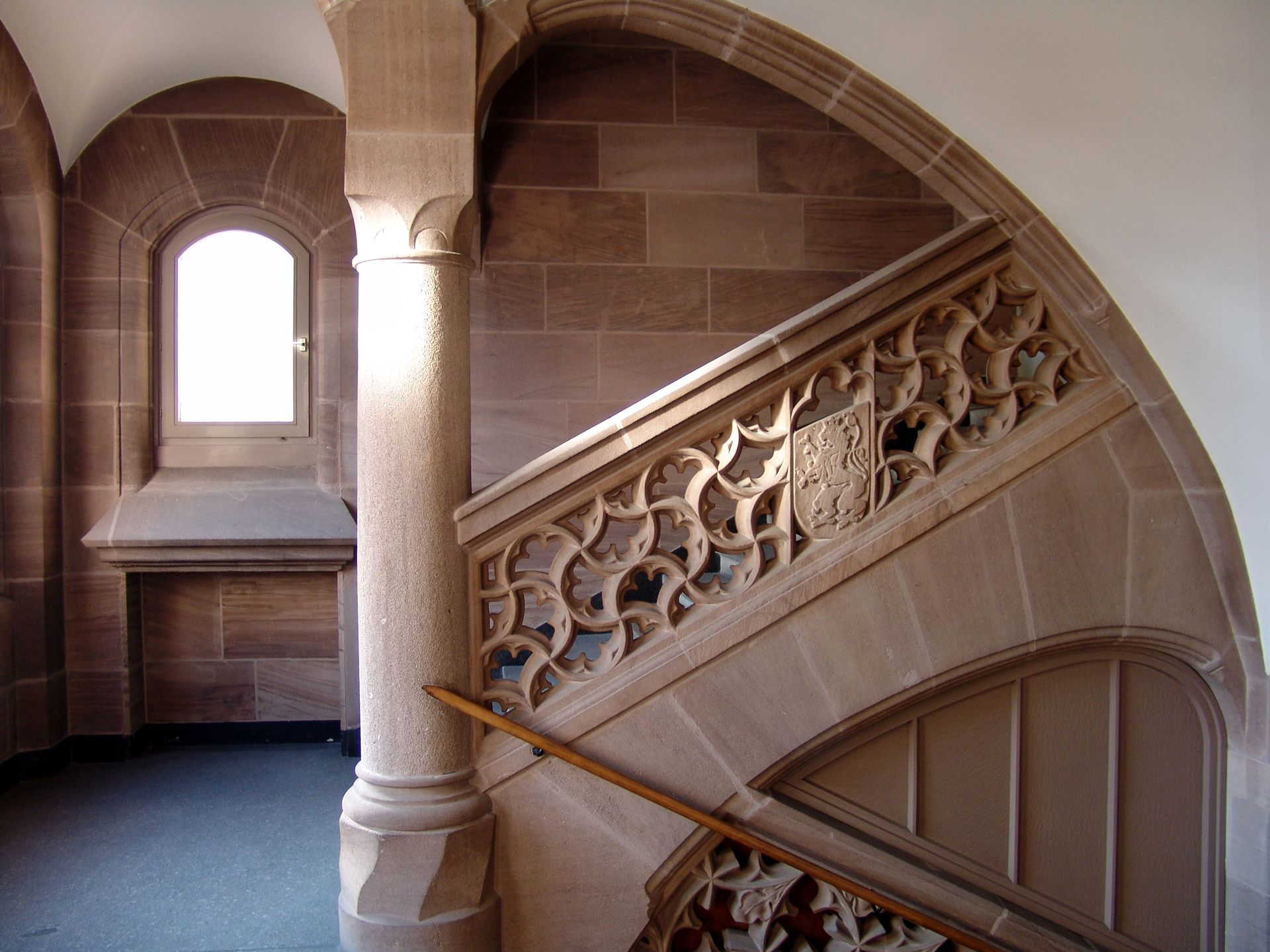 Social Court Stairwell