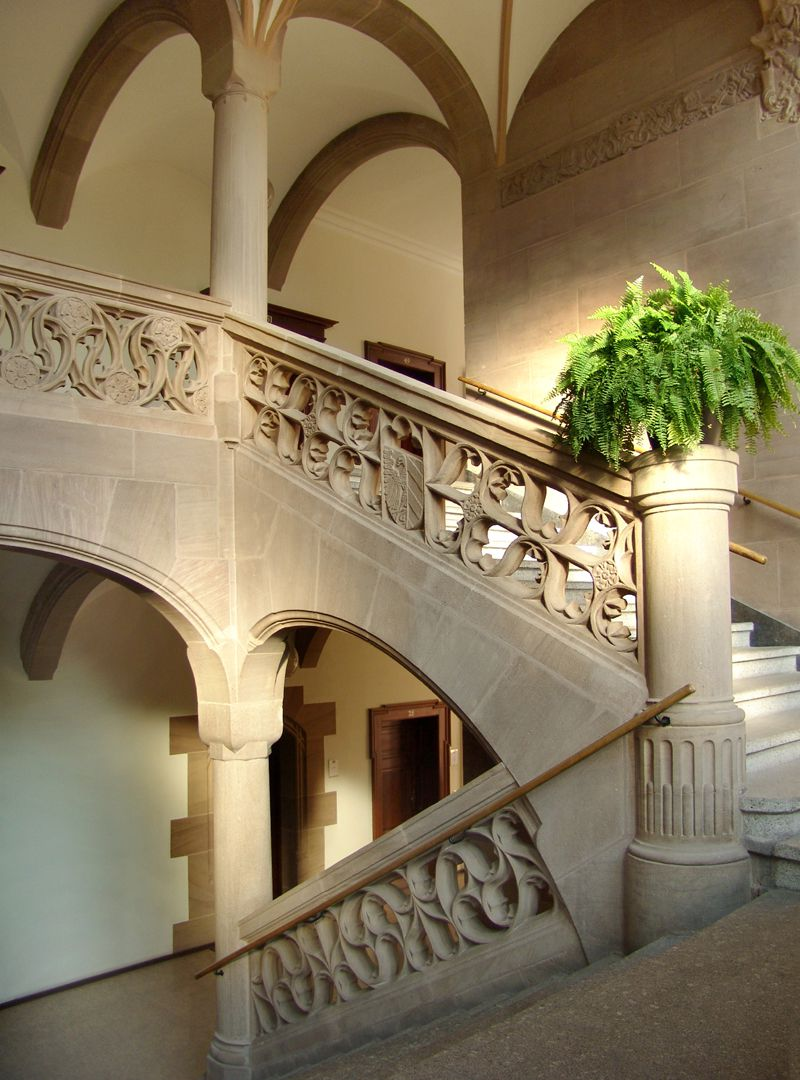 Social Court Staircase to the top floor
