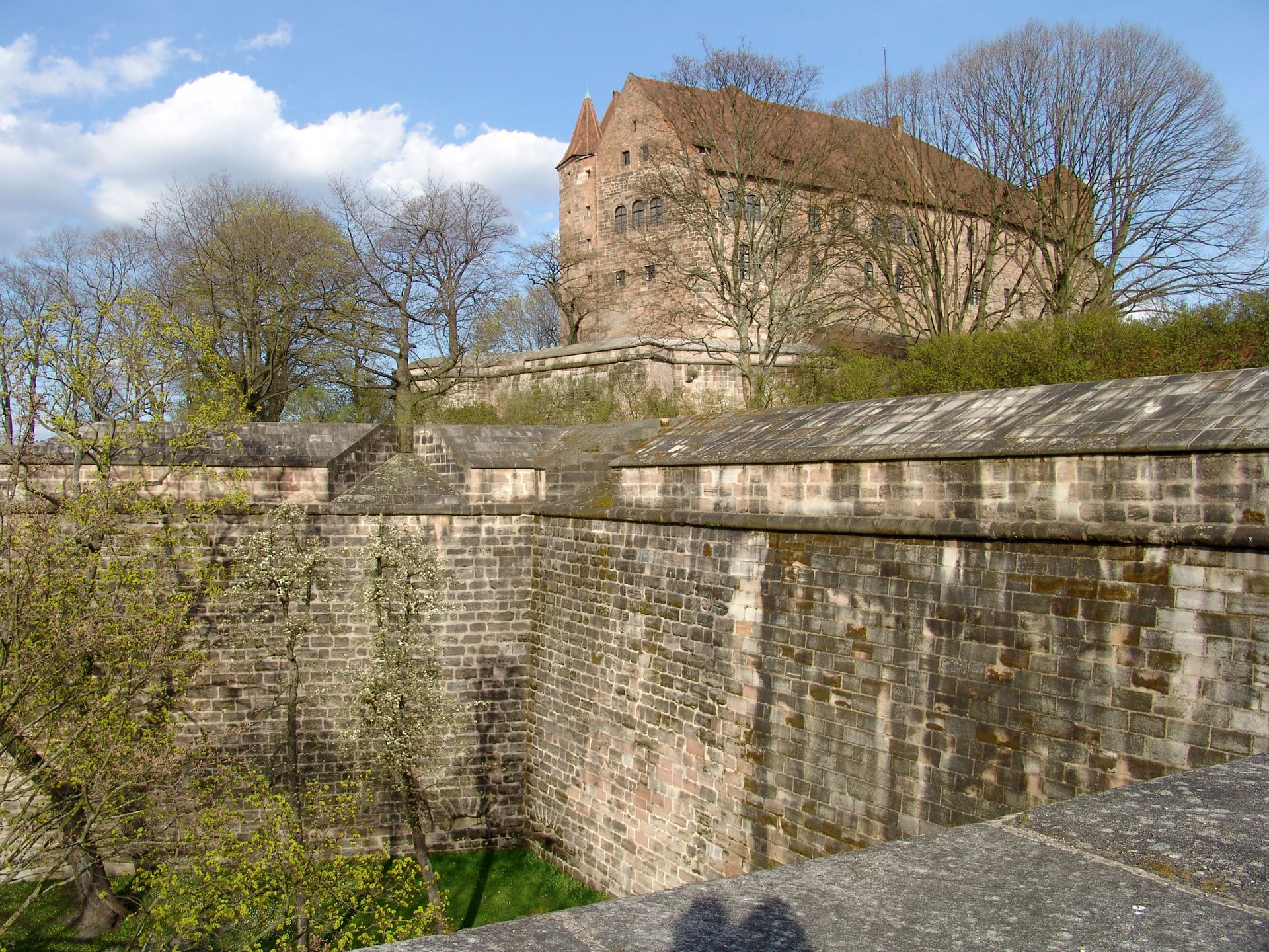 City Fortification Castle bastions as seen from Tiergärtnertor bastion