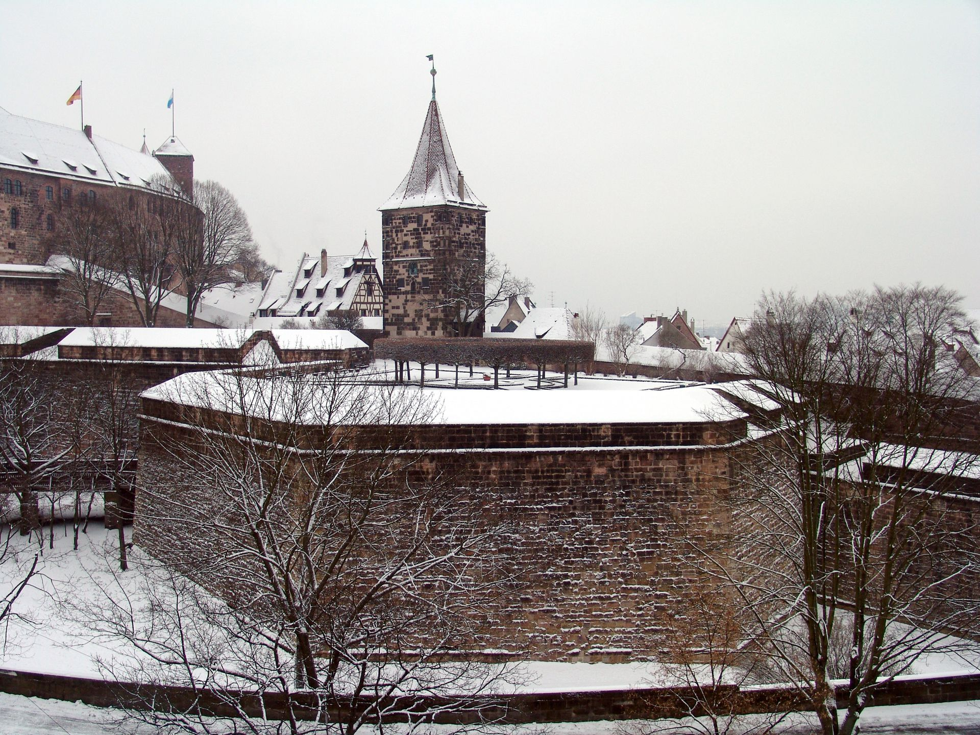 City Fortification Tiergärtnertor bastion