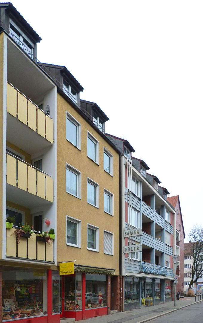 Residential and commercial buildings