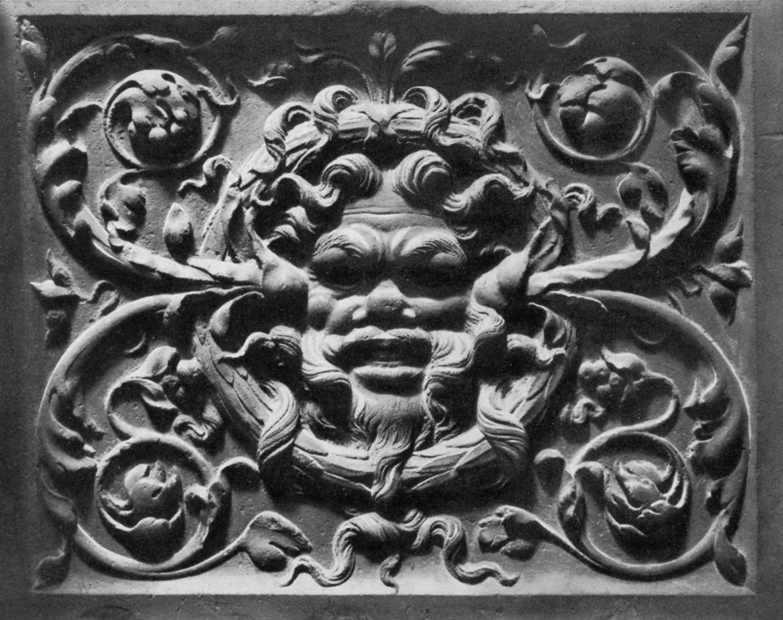 Hirsvogelsaal Relief on the south door of the ground-Floor