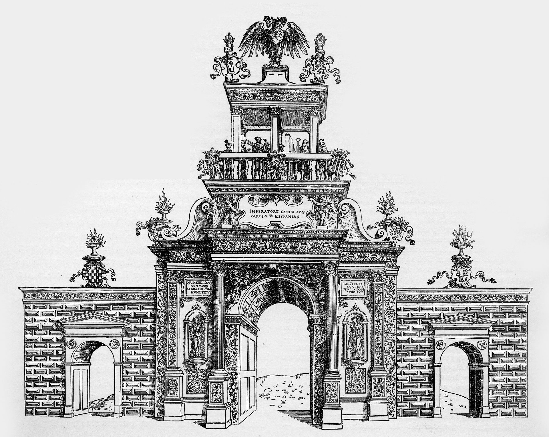 Triumphal Arch for Charles V Triumphal arch for Charles V