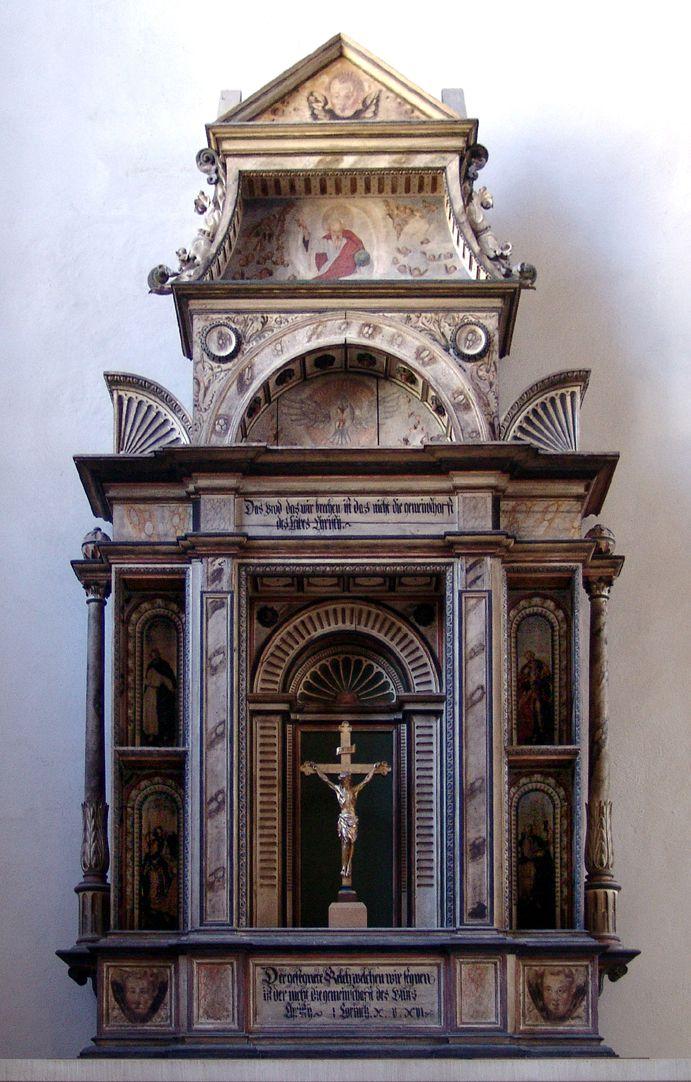 Flötner-Altar (Ansbach) General view
