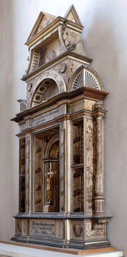 Flötner-Altar (Ansbach) Schrägansicht