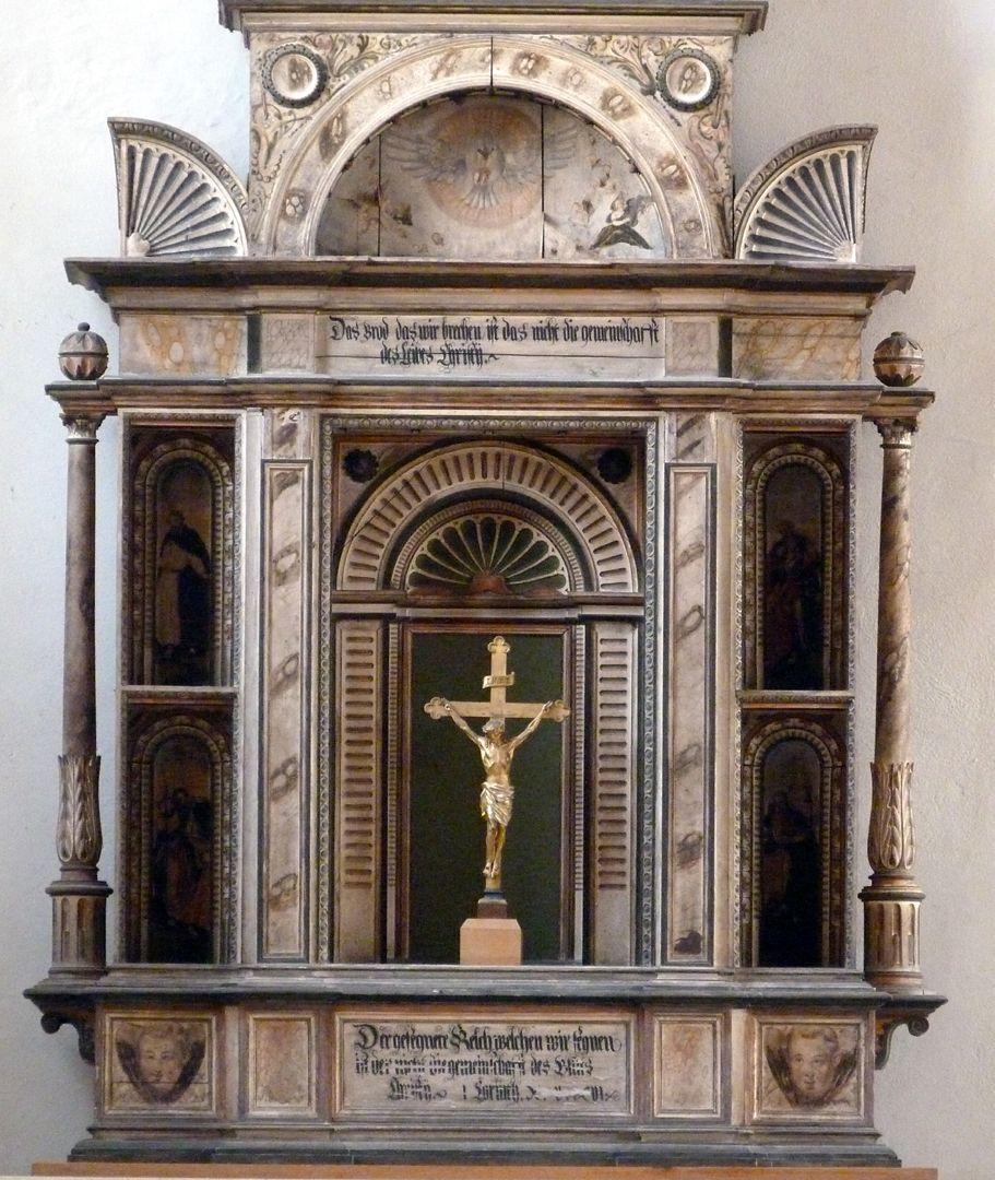 Flötner-Altar (Ansbach) Altarkörper