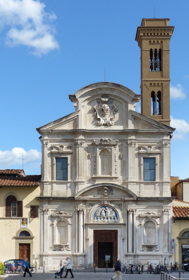 Crucifixus Front of Ognissanti Church in Florence