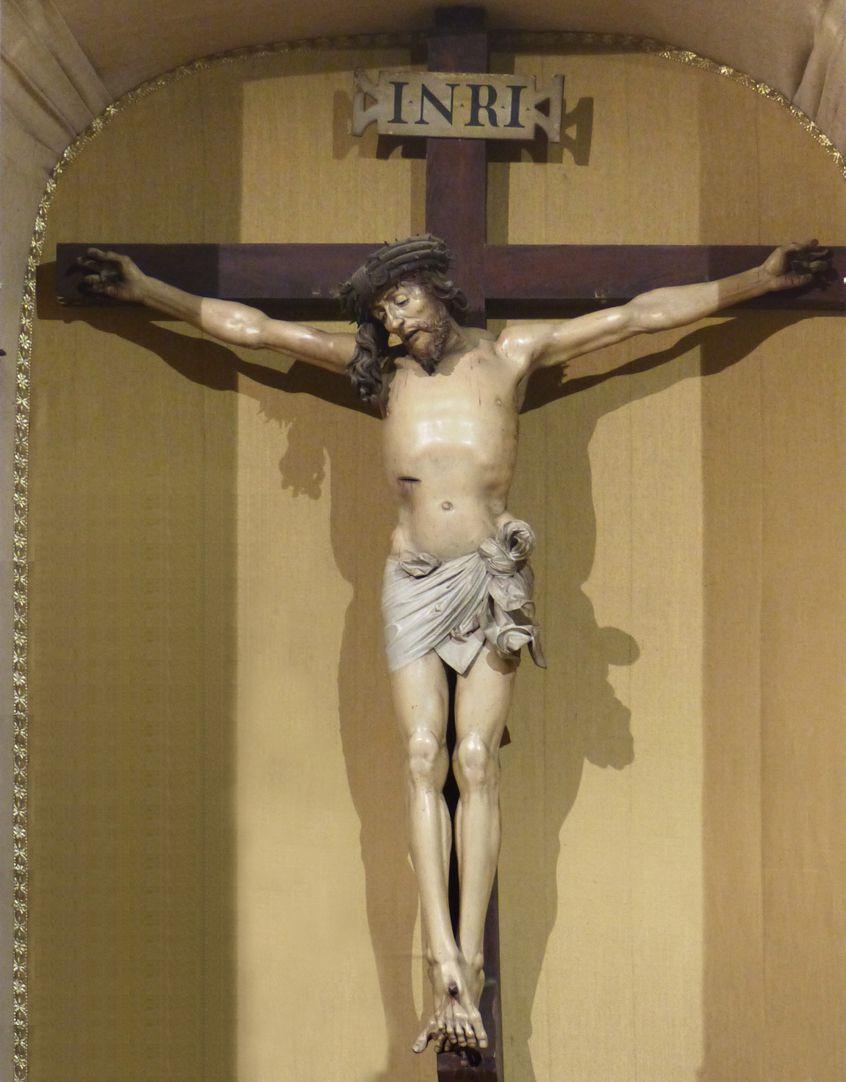 Crucifixus Altar recess with Crucifixus