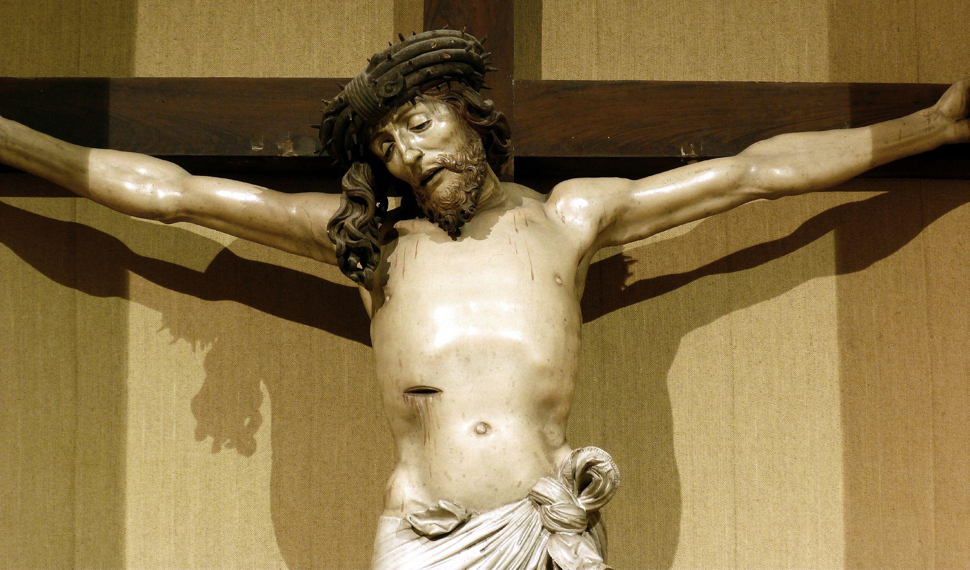 Crucifixus Upper part of the body