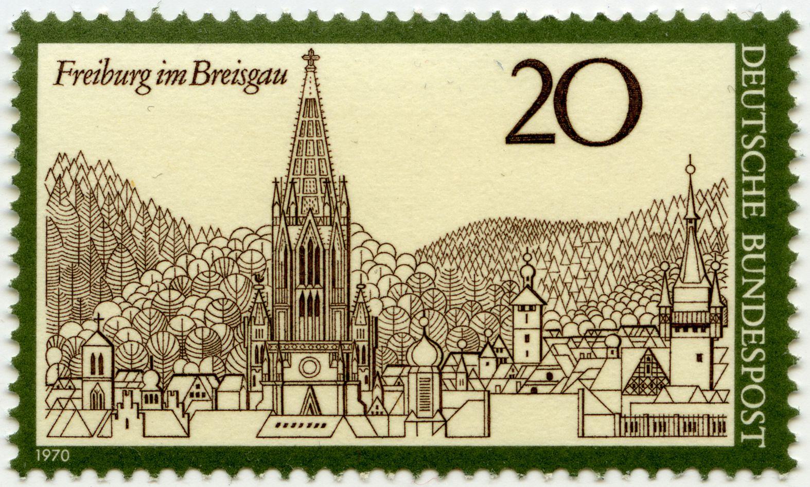 Freiburg im Breisgau Total view