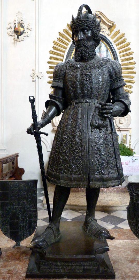 Frederick IV. of the Empty Pocket (Innsbruck) Frontalansicht