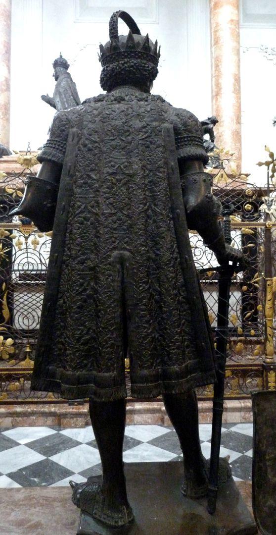 Frederick IV. of the Empty Pocket (Innsbruck) Rückansicht