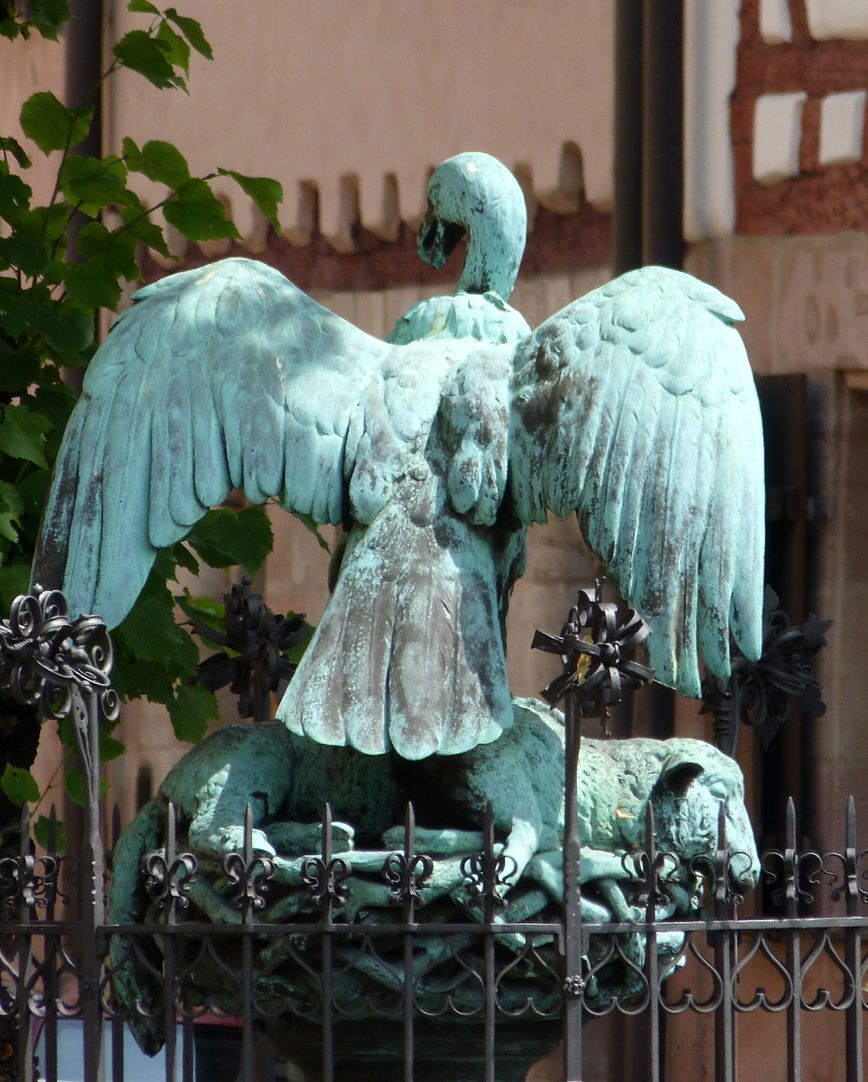 Geiersbrünnlein (Little vulture fountain) View from the west
