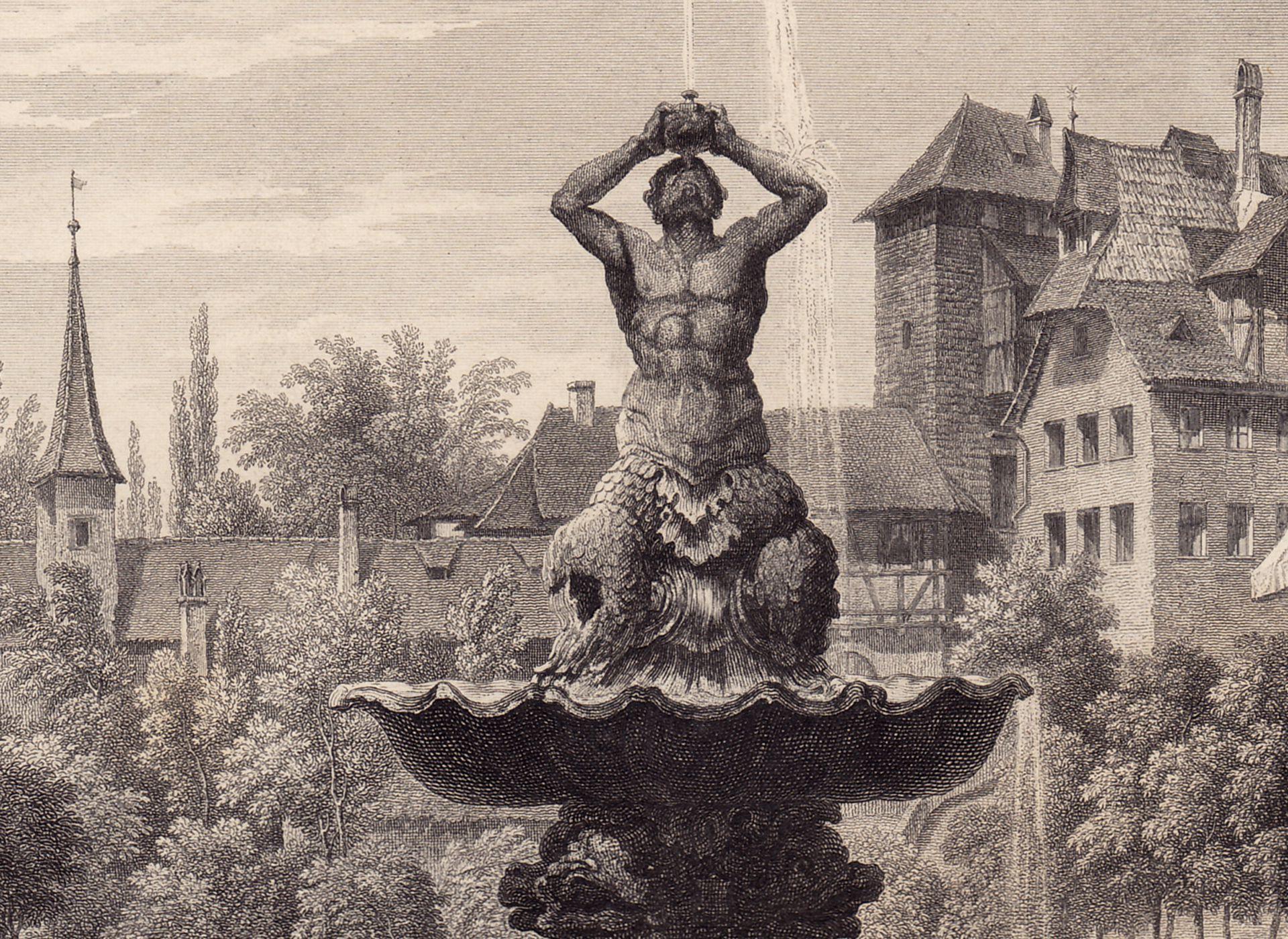 Fountain in Max-Platz Triton