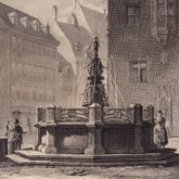 Fountain at St. Lorenz-Church