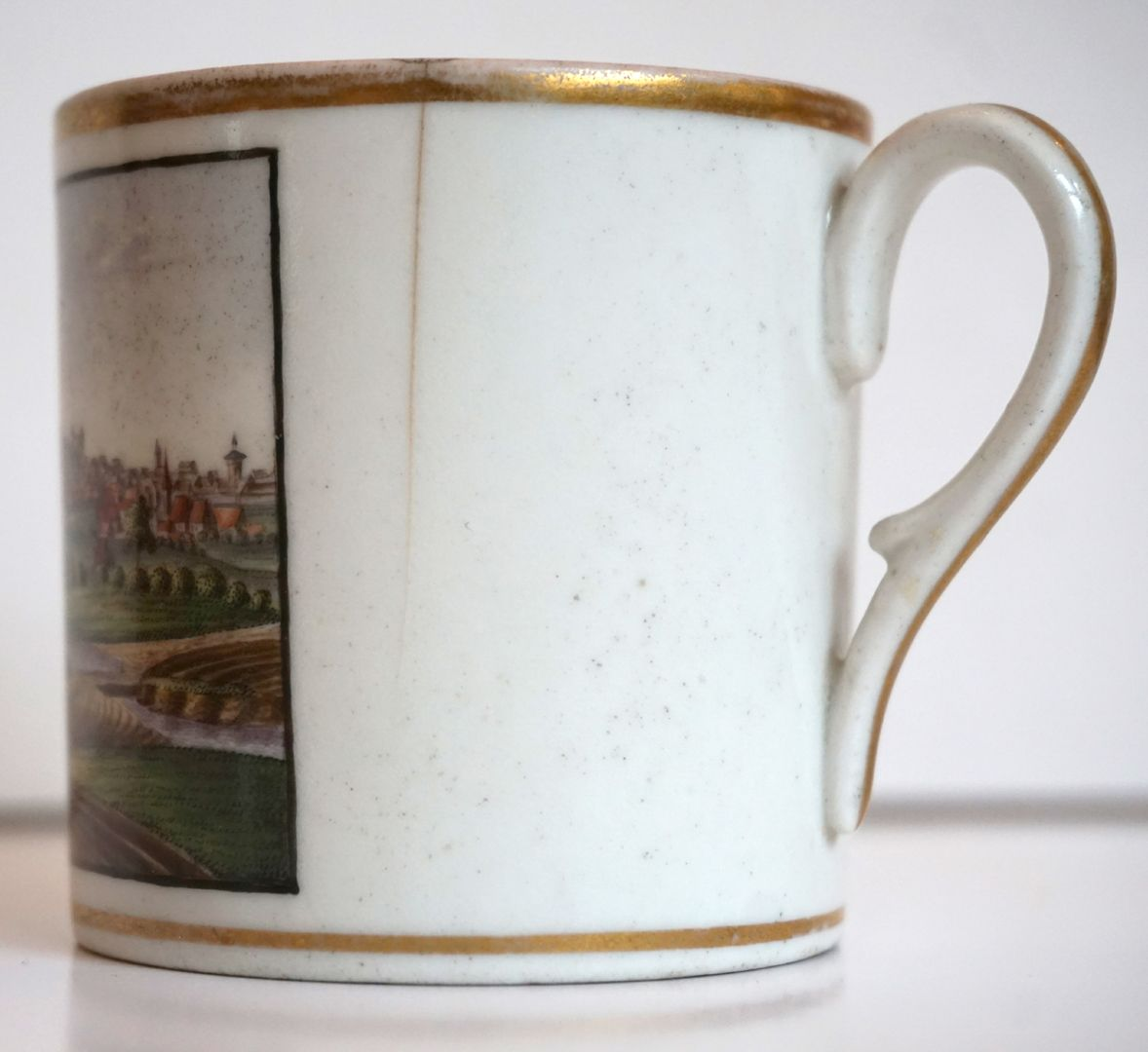 Cup with Nuremberg view from