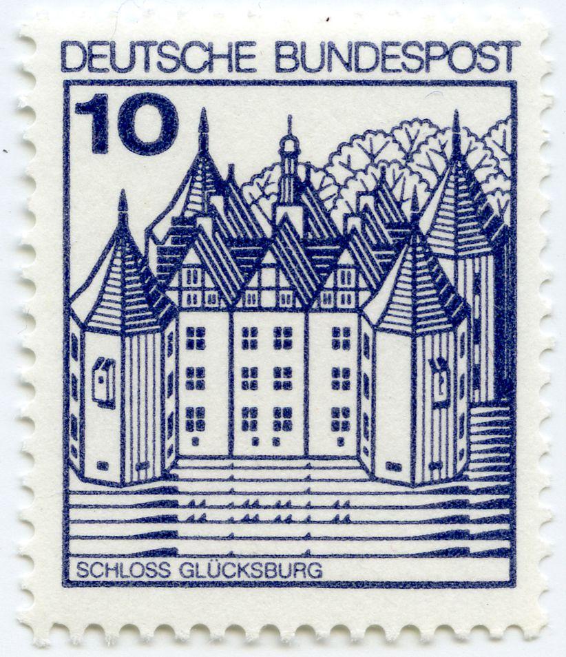 Glücksburg Castle Total view