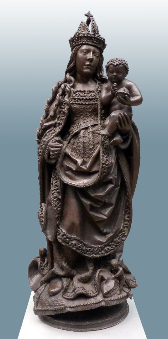 Mary with Child Frontal view, total