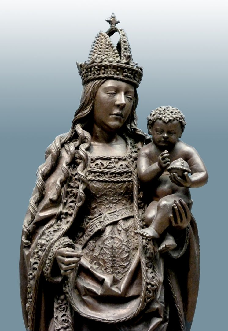 Mary with Child Upper part of the body