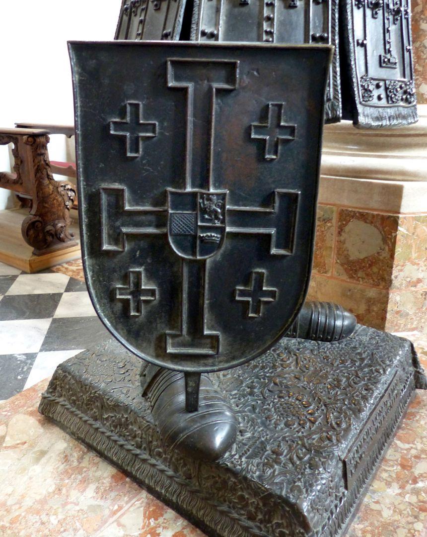 Gottfried von Bouillon (Innsbruck) Wappenschild