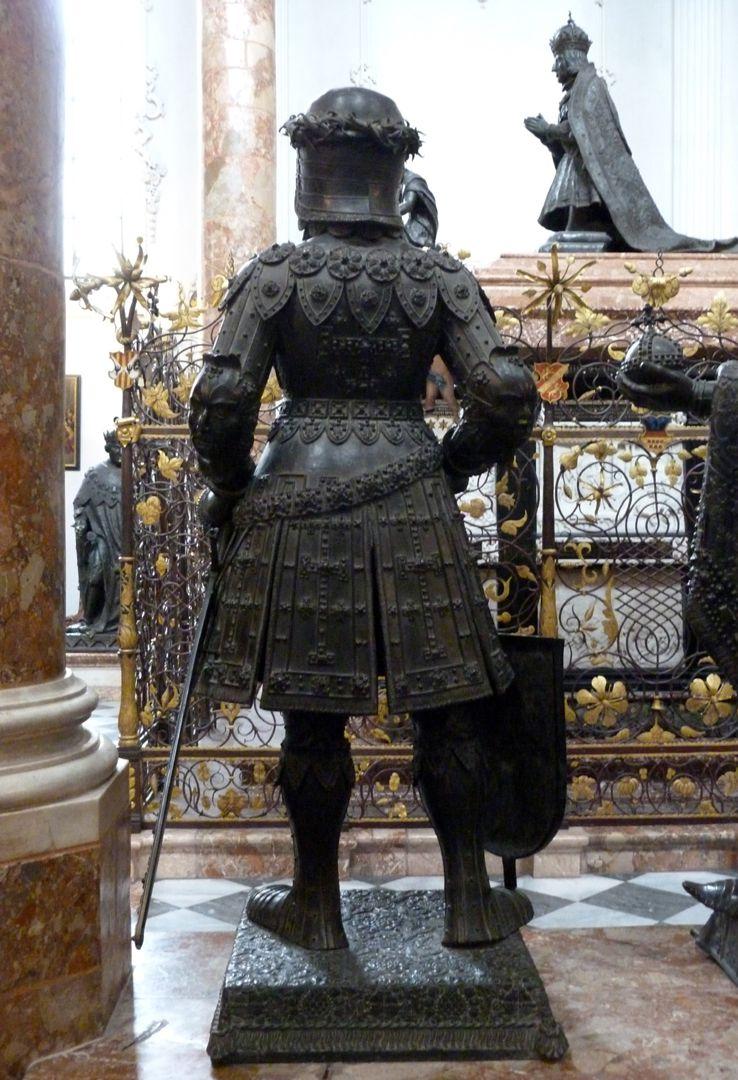 Gottfried von Bouillon (Innsbruck) Rückansicht