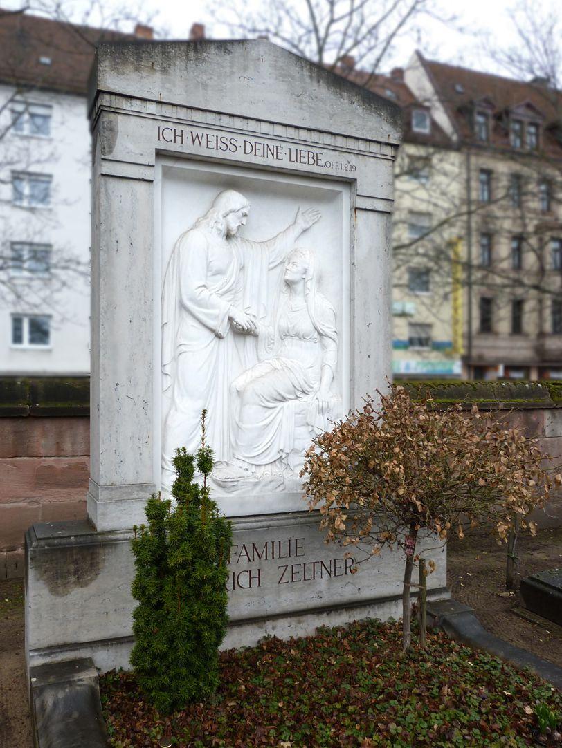 Sepulchral monument of the family Zeltner
