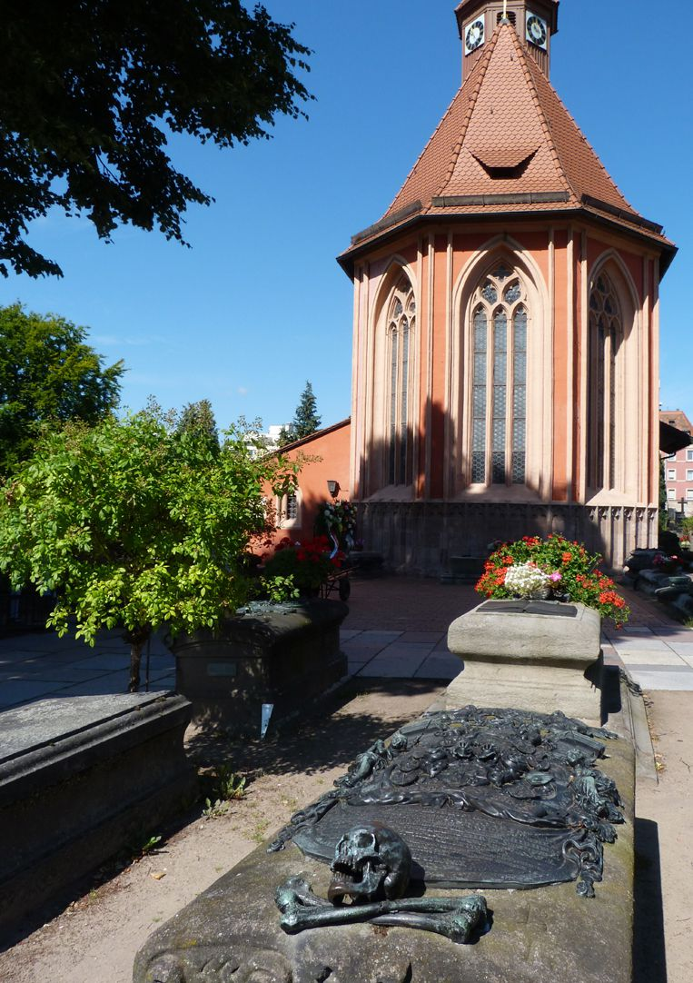 Epitaph of Andreas Georg Paumgartner Burial ground with St.Johannis Church