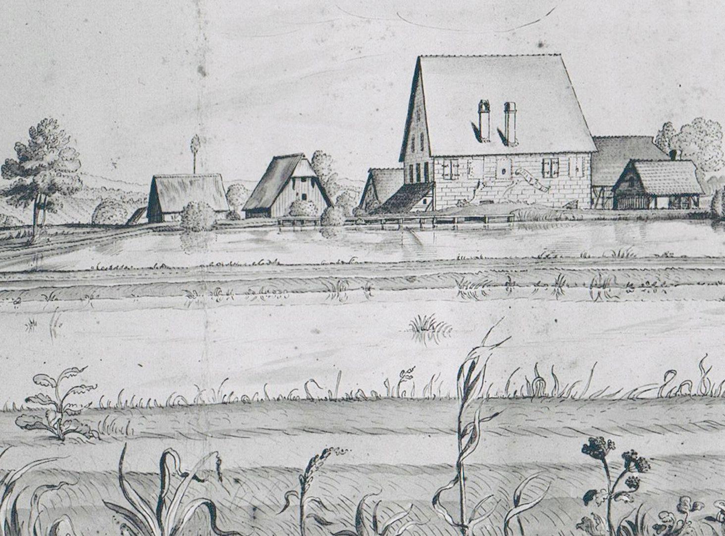 Kleingründlach with Obermühle Detail