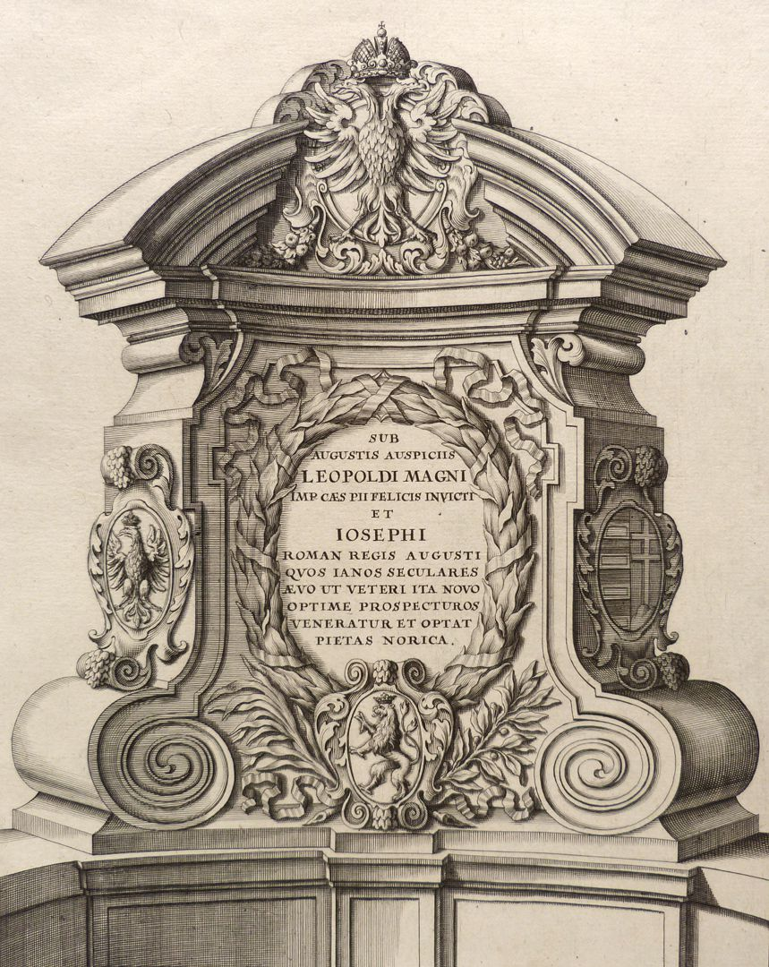 Pulpits of the Museum Bridge with inscriptions East pulpit
