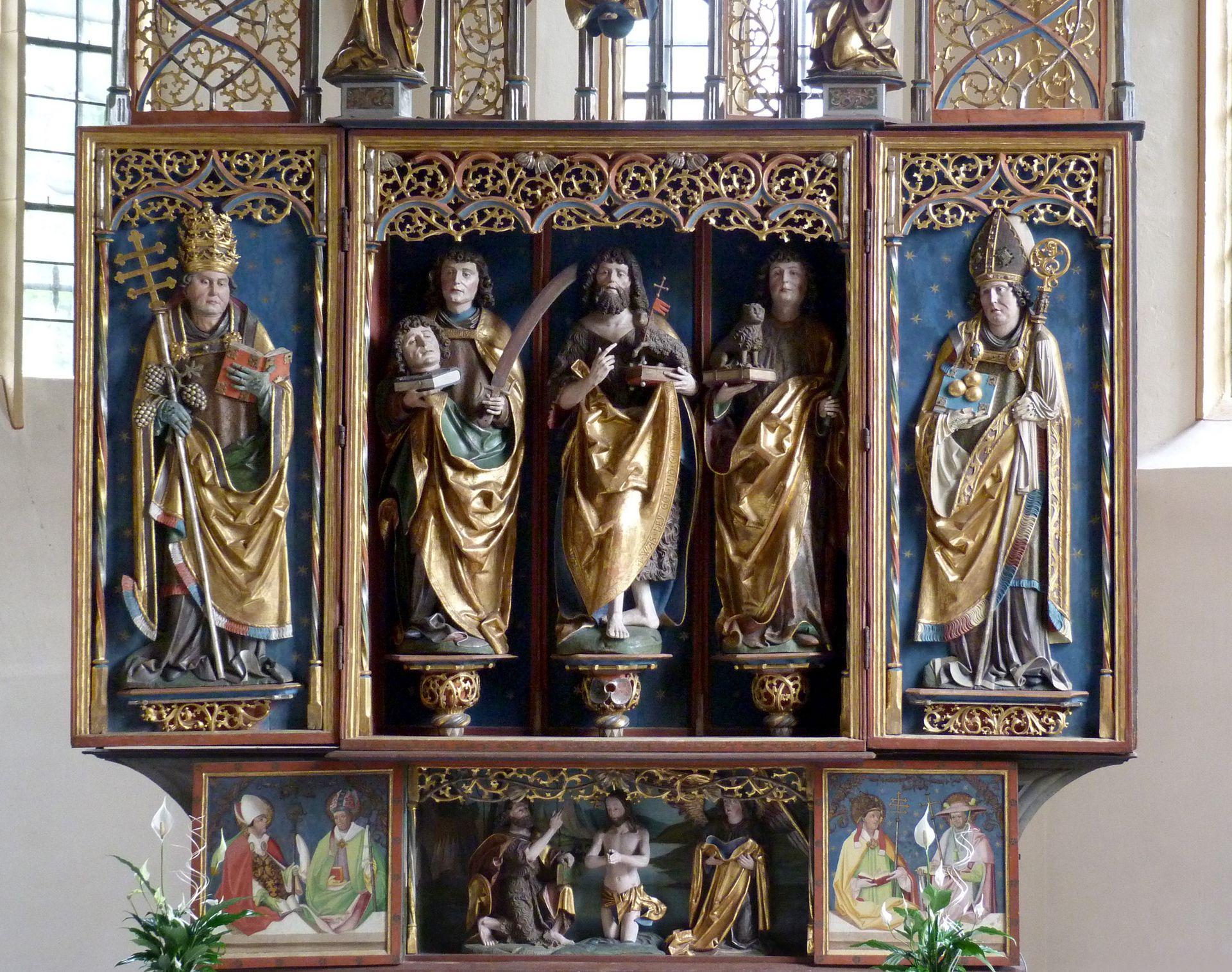 Gutenstetten Altar Altar without pinnacle decoration