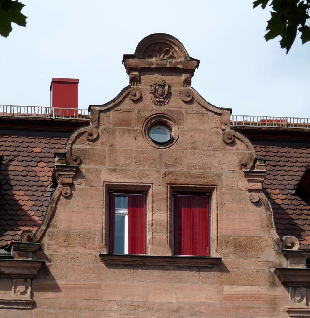 Residential and Office Building, Johannisstraße 68 Southern curved gable