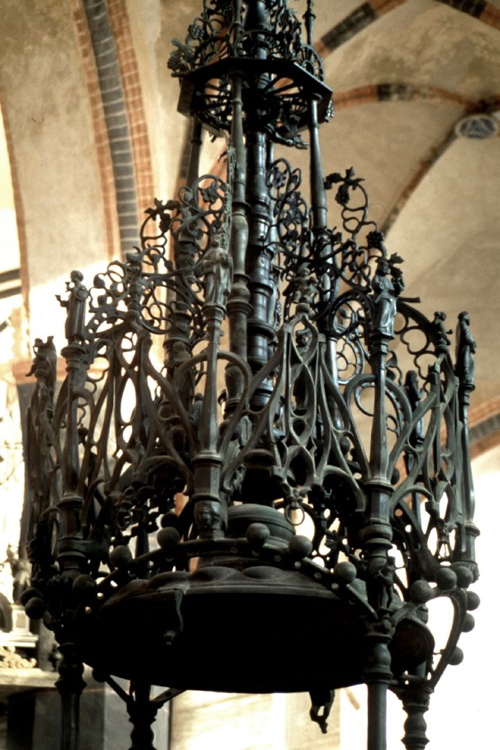 Baptismal font Lid with canopy