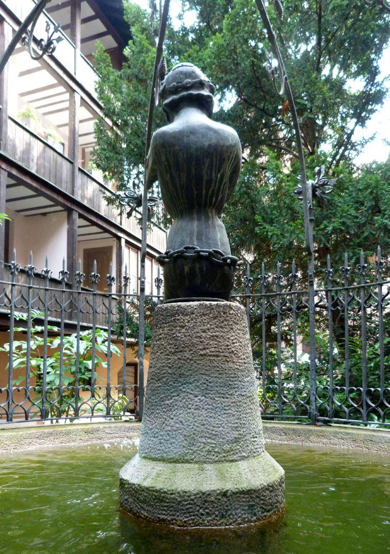 Hansel Fountain Der Hansel in Schulteransicht