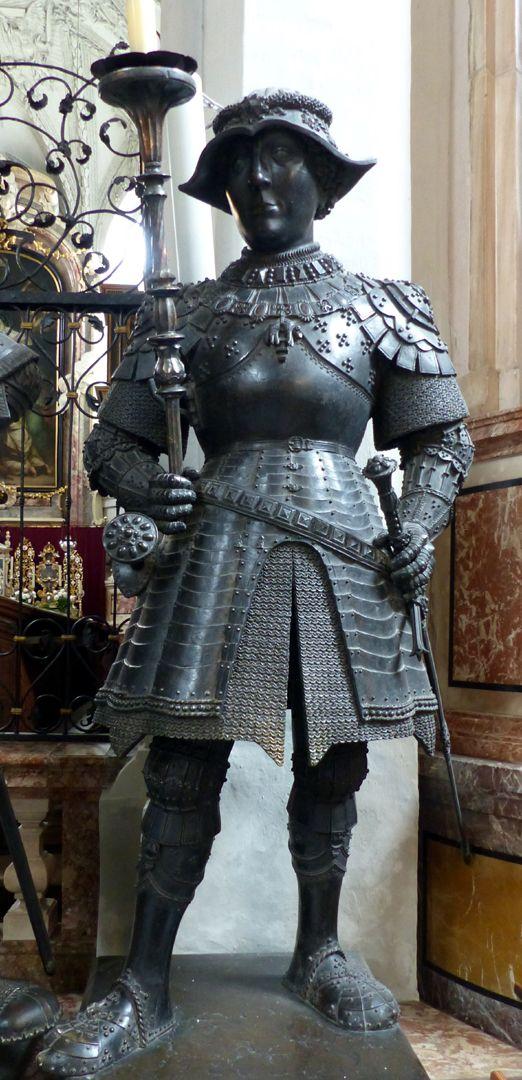 Duke Charles the Bold of Burgundy (Innsbruck) Front view