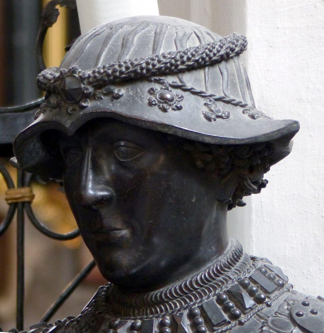 Duke Charles the Bold of Burgundy (Innsbruck) Head with hat