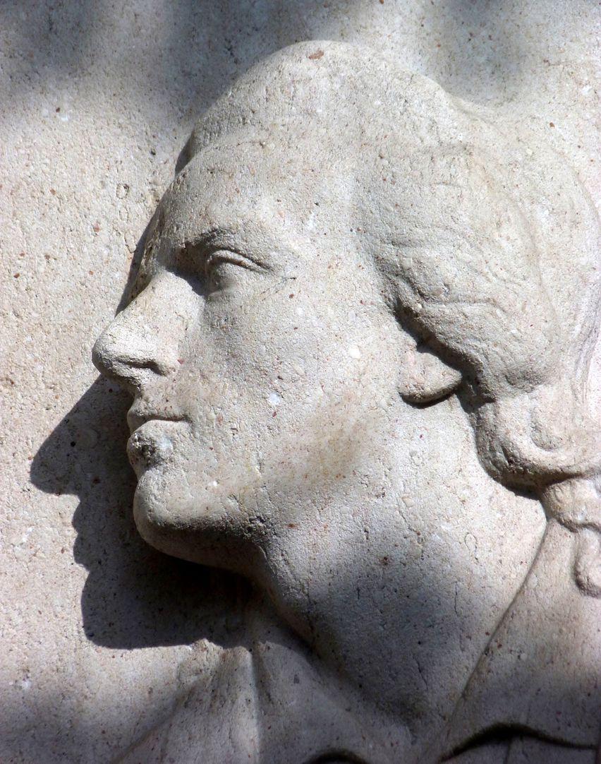 Schiller Monument Head